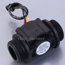 "Water Flow Hall Sensor Switch 1in 1"" Flowmeter Flow Meter Counter 1-60L/min"