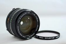 MINOLTA MD 28MM F3.5 MC W. ROKKOR-SG WIDE ANGLE MANUAL FOCUS CAMERA LENS