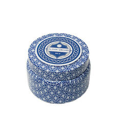 Aspen Bay Capri Blue Printed Travel Tin Candle Jar with Lid 8.5 oz- ALOHA ORCHID