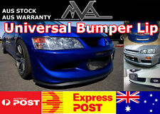 Universal Bumper Lip Spoiler Splitter for Volkswagen Cabriolet Jetta Polo UP