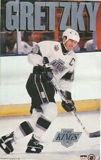 Wayne Gretzky LOS ANGELES KINGS Original Starline Poster MINI Promo 3x5