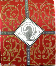 Waterford Damask Tablecloth Anya Red 70 x 144 - NEW