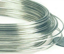 20ft 28 gauge Half hard round 925 solid Sterling Silver Wire crocheting knittng