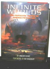 INFINITE WORLDS ARTIST PROOF LTD EDITION MULTIPLE SIGNATURES EX FREAS LIBRARY