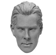 1/6 Custom Sherlock Benedict Cumberbatch Khan Star Trek Unpainted Head Sculpt