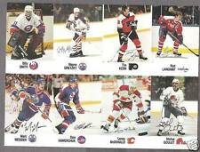 1988-89 Esso Proof Panel of 8, Gretzky and Messier...