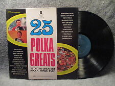33 RPM LP Record 25 Polka Greats Volume 1 K-tel Records NC-400