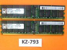 Kingston 8GB Kit of 2 9965416-001.a01lf KVR667D2D4P5K2/8G 667 Mhz