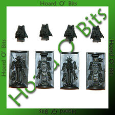WARHAMMER 40K BIN BITS IMPERIAL BASTION - 4x WINDOW ICONS and GARGOYLES