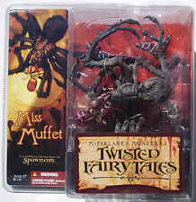MCFARLANE'S  MONSTERS. TWISTED FAIRY TALES. MISS MUFFET ACTION FIGURE UNOPENED