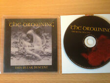 THE DROWNING ~'This Bleak Descent'~ADVANCE RELEASE ONLY CD 2009~ METAL~NEW