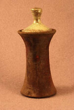 RAKU Unique Ceramic Companion Small/ Keepsake Funeral Cremation Urn #I0014