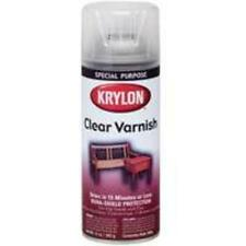 Krylon K07001 High Gloss Clear Varnish Spray  11 Oz