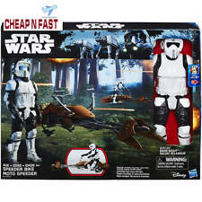 "Star Wars: Return of the Jedi Speeder Bike and Biker Scout 12"" Action Figure"