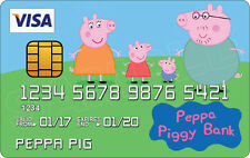 Peppa Pig Novelty Plastic Credit Card