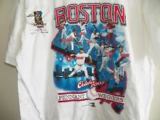 New BOSTON RED SOX 2007 World Series Pennant Winners Large T-Shirt David Ortiz