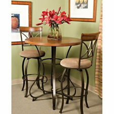 COUNTER HEIGHT ROUND TABLE Pub Bar BREAKFAST Nook Furniture Coffee BISTRO Office