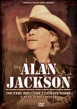 ALAN JACKSON New Sealed 2017 LIVE CONCERT PERFORMANCES & MORE DVD