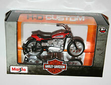 Maisto - Harley Davidson 1972 XR750 RACING BIKE Model Scale 1:18
