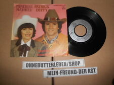 """7"""" Pop Mireille Mathieu / Patrick Duffy - Together We're Strong ARIOLA Dallas"""