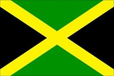 JAMAICA FLAG - FUN CAR / WINDOW STICKER + 1 FREE - BRAND NEW - GIFT