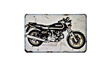 Ducati 900Sd Darmah Motorbike Sign Metal Retro Aged Aluminium Bike