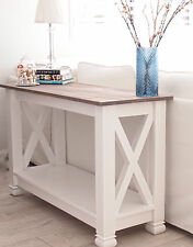 NEW! Handmade Hamptons Beach House Console Hall Side Table |  French Provincial