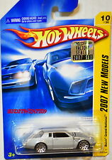HOT WHEELS 2007 NEW MODELS BUICK GRAND NATIONAL #10/36 SILVER FACTORY SEALED