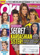 Kim Kourtney Khloe Kardashian, Angelina Jolie, Jason Statham - Oct. 21, 2013 OK!