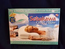 Sobakawa Cloud Cool micro bead Bed Pillow AS SEEN ON TV NEW