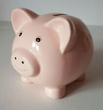 Brand New in Box Pink Cute Pig Ceramic Money Box - Piggy Bank Gift