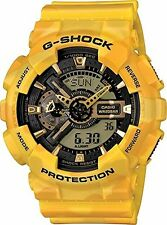 Casio - G-Shock - X-Large Metallic Camouflage - Yellow - GA110CM-9A