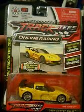 Trackester Online Racing Yellow '05 Chevy Corvette C6-R Scale 1:64 Die-Cast Car