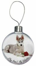 Personalised (Any Name) Christmas Tree Bauble Decoration Gift, VAD-H54RCB