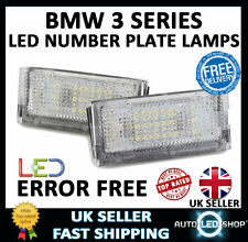BMW E46 5 DOOR TOURING WHITE SMD LED NUMBER PLATE LAMP LIGHT BULB UPGRADE UNITS
