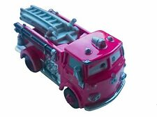 Disney Pixar Cars The Movie Red Fire Engine Character Toy