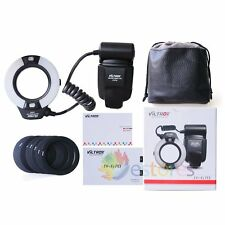 Viltrox JY-670S LED Macro Ring Light Flash Speedlite Fr Sony Alpha Series Camera