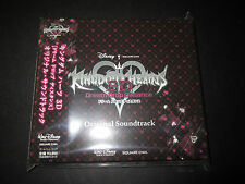 KINGDOM HEARTS Dream Drop Distance Game Music Soundtrack New and Sealed