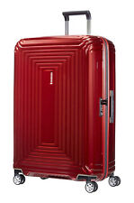 SAMSONITE ´NEOPULSE´ 4-ROLLEN KOFFER TROLLEY 75 / 28 Metallic Red UVP 259,-€