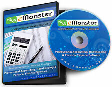Accounting, Bookkeeping & Personal Finance Software Disc