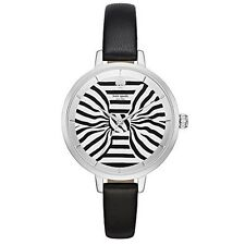 Kate Spade New York Women's KSW1032 Metro Analog Display Black Watch