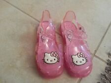 Lotto 82 ciabattine scarpe sandali mare piscina bimba bambina hello kitty n.29