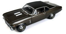 1969 Nova SS Burnished Brown Metallic 1:18 Auto World 966