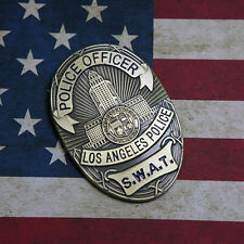 LAPS S.W.A.T. Los Angeles Police SWAT Department Badge Money clip