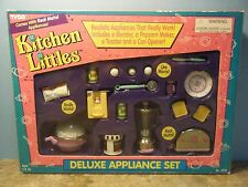 TYCO KITCHEN LITTLES DELUXE APPLIANCE SET  *NEW*