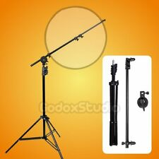 Studio Reflector Disc Boom Holder Arm with Swivel Head + 200cm Light Stand Kit