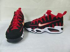 New! Mens Nike Shoes Air Max NM Style 429749-006 Size 9.5 BlackRedWhite 29L