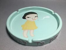 "Very Rare! Yoshitomo Nara 2001 TOO YOUNGTO DIE 10"" ASHTRAY"