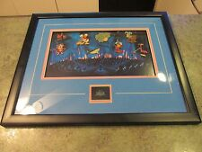 Disney Gallery Fantasia 2000 Framed 9 Pin Set Limited w COA & Disney Tag