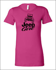 Jeep Bella Ladies Shirt  for Girls to show off your vehicle A123HP